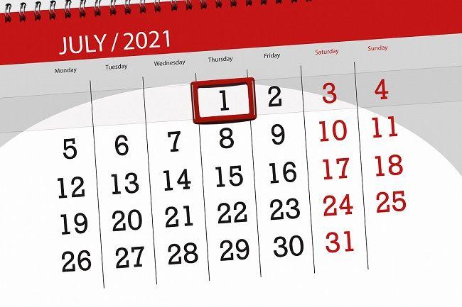 Ważne zmiany od 1 lipca 2021r !!!!